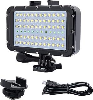 Suptig Video Verlichting Duik Licht Onderwater Lichten 72 Led Lichten Compatibel Voor Gopro Canon Nikon Pentax Panasonic S...