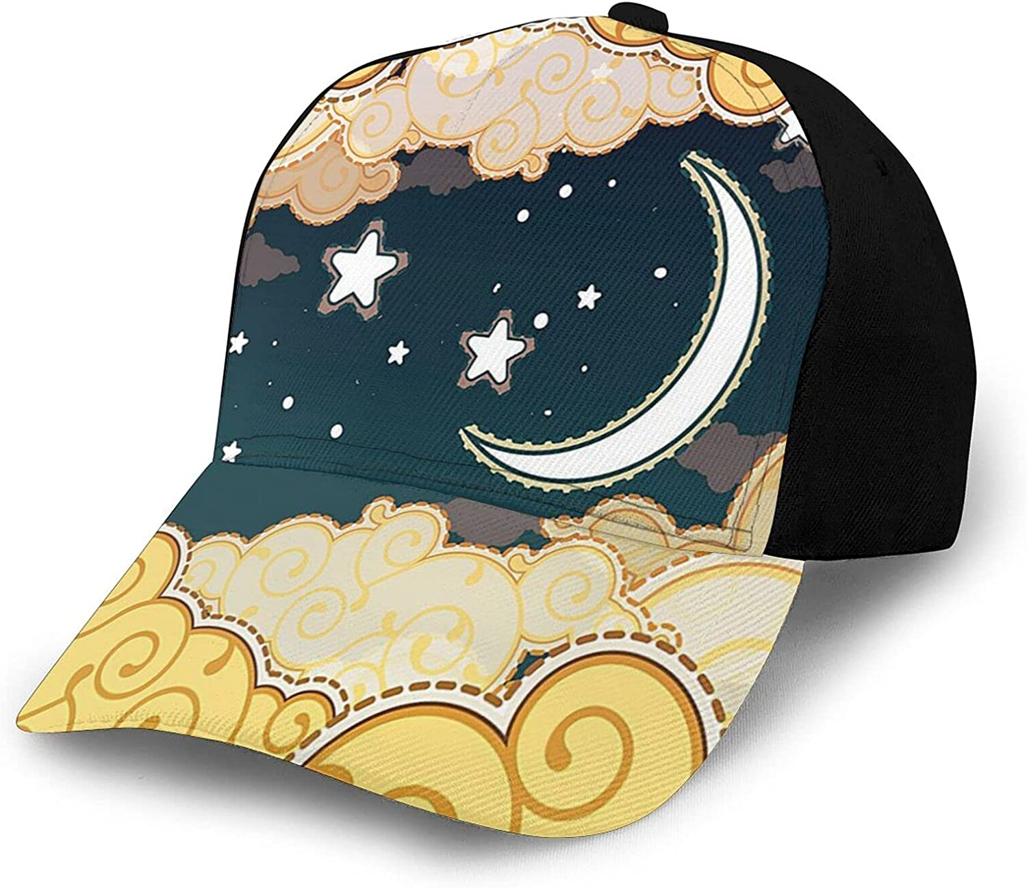 Fantasy House Year-end annual account Decor Collection Cartoon Clou with Style Night Very popular Sky