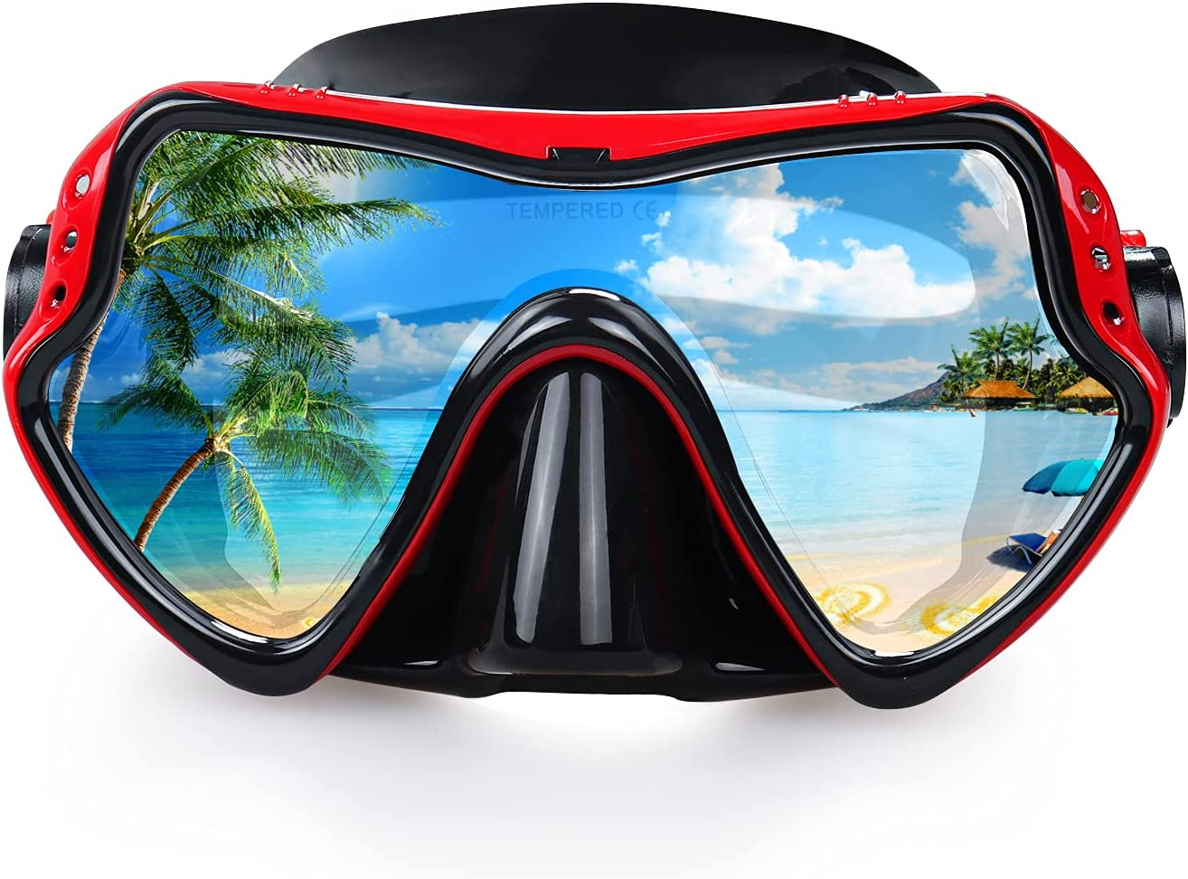 In a popularity Courier shipping free EXP VISION Snorkel Diving Gea Professional Snorkeling Mask