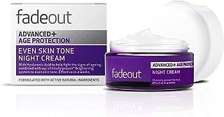 Fade Out Advanced Plus Age Protection Night Cream, 50 ml, Purple