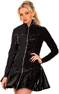 PVC Hot Chick Zip Dress