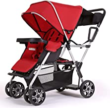 double stroller with speakers
