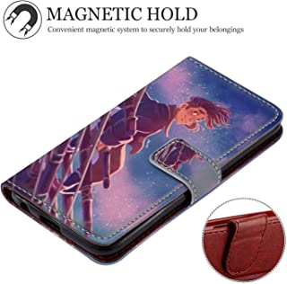 Case for iPhone Xr Wallet with Stand Flip Card Credit Hold Full Body Protective Cover Jim Hawkins Treasure Island Animated Movie Wallpaper Series