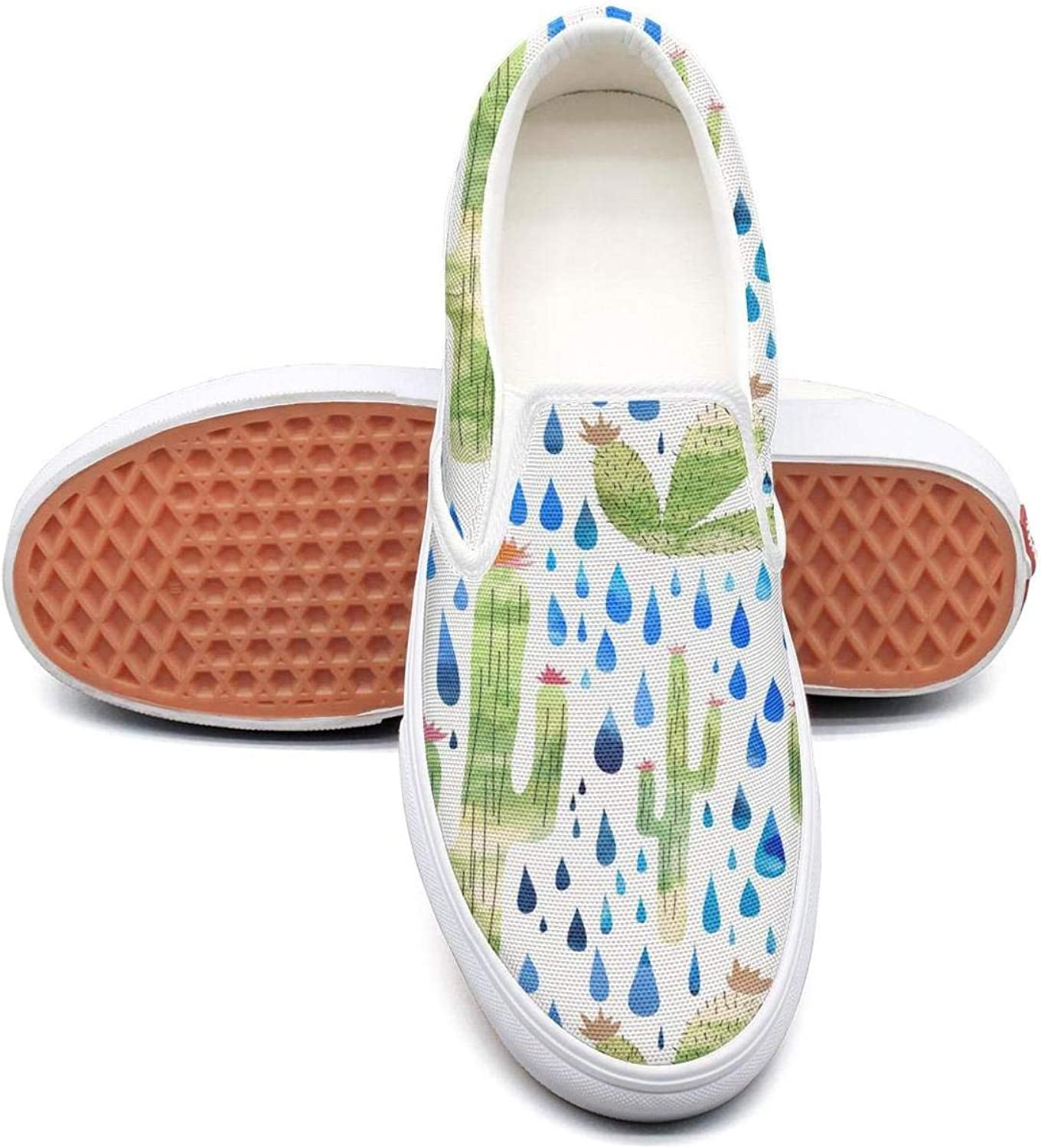 SOFIE MARTIN Real Cactus Cacti Beautiful Women Walking shoes Low Top Lightweight Wear-Resistant