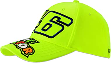 VR46 Valentino Rossi 46 The Doctor Yellow Cap Adult Size Official Merchandise