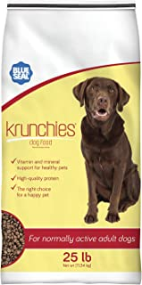 Blue Seal Kent Nutrition Krunchies Adult Dog Food 25 Lbs. No Soy, No Artificial Colors or Preservatives, Nutritionally Com...