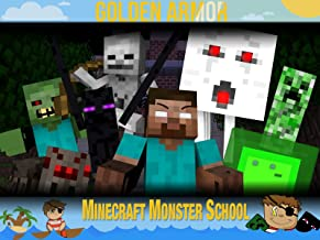 Clip: Golden Armor - Minecraft Monster School
