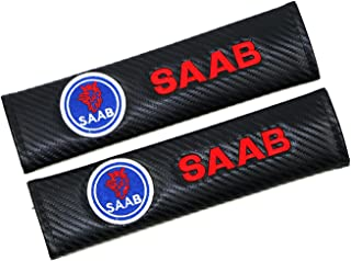 Correa de fibra de carbono para todos los automóviles - 2pcs(correa de hombro) (SAAB)