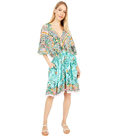 Johnny Was Taina Dolman Cover-Up (Multi) Women