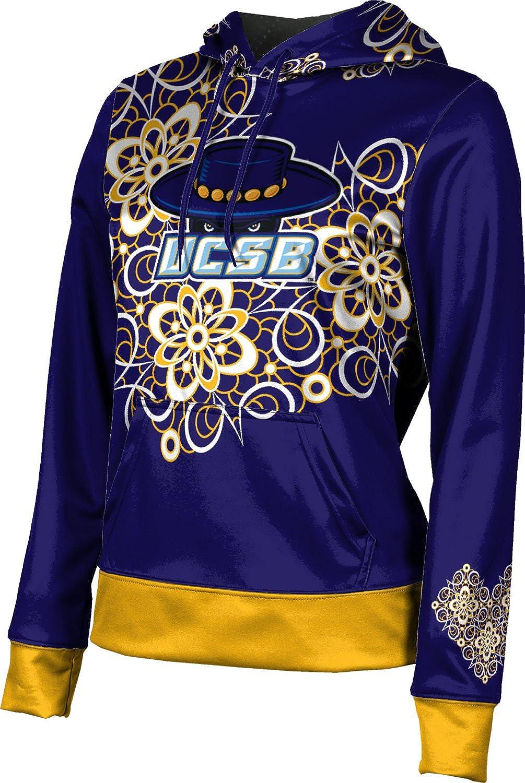 ProSphere University of California Santa Barbara Girls' Pullover Hoodie, School Spirit Sweatshirt (Foxy)