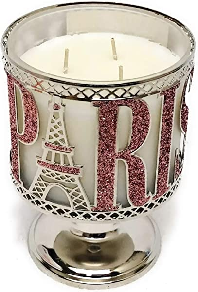 Bath And Body Works Paris Pedestal 3 Wick Candle Sleeve