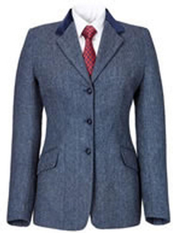 Caldene Womens Ladies Silverdale Tweed Competition Jacket