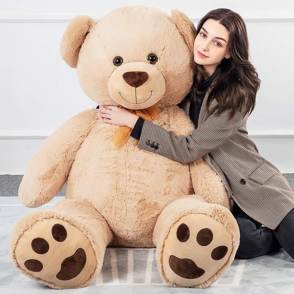Tezituor Super popular specialty store Giant Teddy Bear Soft Hug Plush Big Spring new work Animal Cute Stuffed