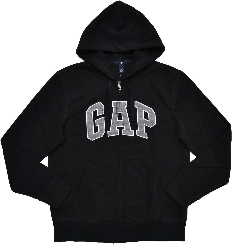 Gap Herren Fleece Arch Logo Full Zip Hoodie