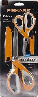 Fiskars Crafts 8165 RazorEdge Softgrip Fabric Shears Set, 5-Inch and 8-Inch