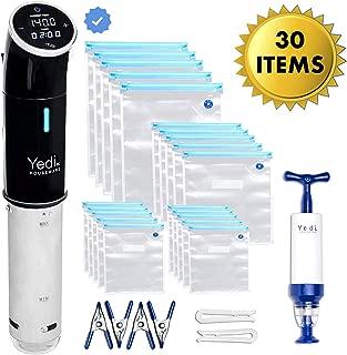 Yedi Houseware Total Package Sous Vide Max, 1000 Watts, Black