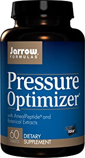 Jarrow Formulas Pressure Optimizer, Supports Cardiovascular Health, 60 Easy-Solv Tabs