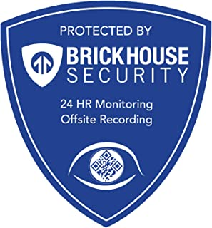 BrickHouse Security Blue Shield Sign (Eye: Sign ONLY)