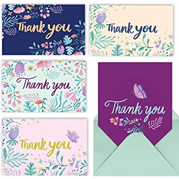 200pk Butterflies and Beautiful Girls Thank You Note-Thank You Notes