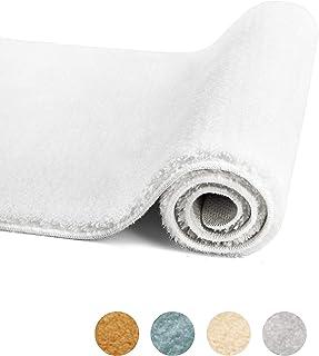 Feishibang Bathroom Rug Mat Super Soft and Comfortable Indoor Mat, Non-Slip Machine Washable Plush Fluffy Carpet Super Wat...