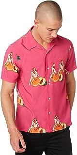 Huf Peachy Ss Woven Short Sleeve T-Shirt