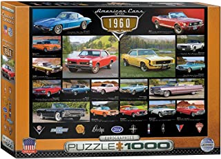 EuroGraphics American Cars of The 1960s 1000-Piece Puzzle