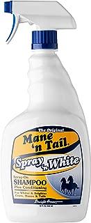 Mane 'n Tail White Spray On Shampoo Plus Conditioning 32 oz