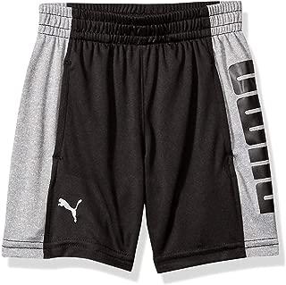 PUMA Boys 41193376FME-P001 Boys' Performance Shorts Shorts - Black