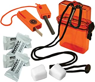 UST Ultimate Survival Technologies Fire Starter Kit 1.0 in Orange Watertight Case