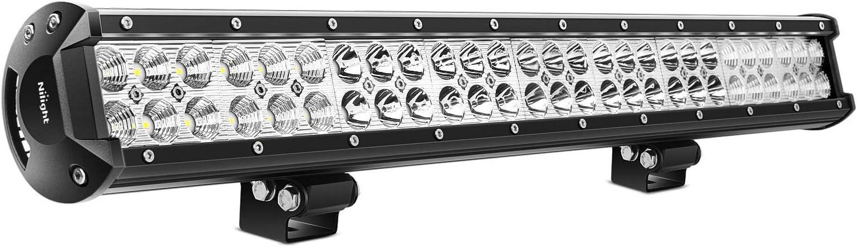 "Nilight - 60007C-A 25"" 162W Led Light Bar Flood Spot Combo Waterproof Driving Lights Off Road Lights for SUV UTE Truck ATV UTV ,2 Years Warranty"