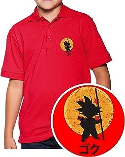 The Fan Tee Camiseta de NI/ÑOS Dragon Ball Goku Vegeta Bolas de Dragon Super Saiyan 089