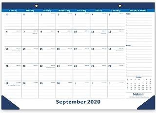 Nekmit 2020-2021 Academic Year Monthly Desk/Wall Calendar Perfect for Home Schooling Plan & Schedule,16-3/4 x 11-4/5 Inche...