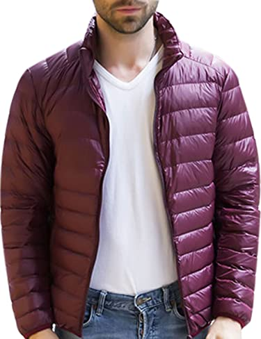Tanming Mens Winter Casual Lined with Cashmere Warm Denim Jacket