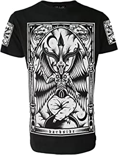 Darkside Clothing Baphomet Mens Black T-Shirt