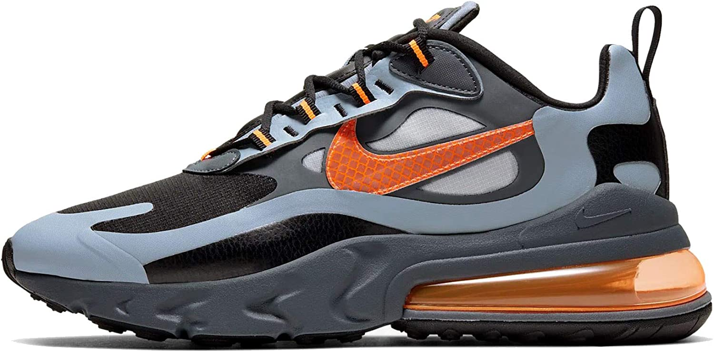 Nike Air Max 270 React WTR Sneakers Grigio Nero Arancio CD2049-006 ...