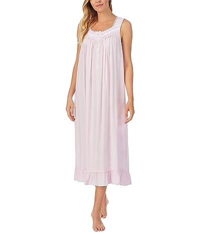 Eileen West Sleeveless Ballet Nightgown (Pink Print) Women