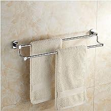 XINHU Handdoekenrek Verdikte Dubbele Handdoek Bar Badkamer Plank (Maat: 50cm)