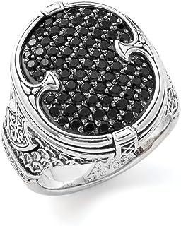 خاتم كونستانتينو من الفضة الإسترلينية والإسبنيل للرجال