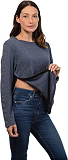 MAI Post Shoulder Surgery Shirts | Chemo Clothing | Women Long Sleeve Shirt