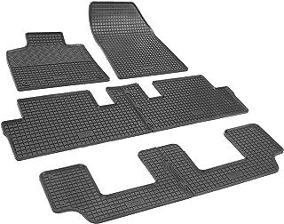 Gummifußmatten für Citroen C4 Grand Picasso 7-Sitzer 2006-2013 Passgenau