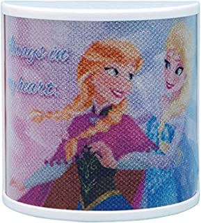 Westland Giftware Disney Frozen Always in My Heart Battery Operated Lighted Magnet with On/Off Switch and 7 Alternating Co...