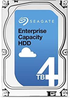 Seagate 内蔵ハードディスク 3.5インチ Enterprise Capacity 4TB ( SAS / 512Native / 5年保証 ) 正規代理店品 ST4000NM0025