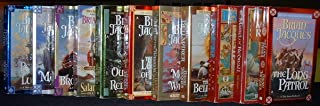 Redwall Series Collection of 11 Novels (Lord Brocktree, Martin the Warrior, Mossflower, The Legend of Luke, The Outcast of...