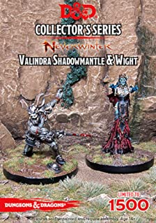 Gale Force Nine D&D Neverwinter Valindra Shadowmantle and Wight  Figs Miniatures