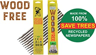 RECYCLED NEWSPAPERS PENCILS - 10 PACK