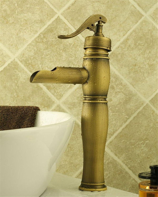 ETERNAL QUALITY Bad Waschbecken Wasserhahn Küche Waschbecken Wasserhahn Voller Kupfermischer Des Retro- Wasserbrunnenhahns Waschtischmischer BQ558ca