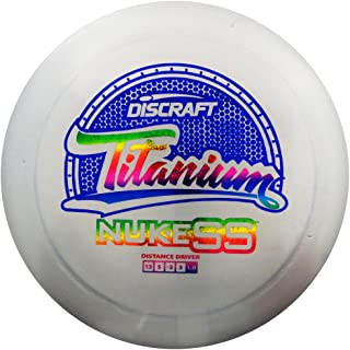 Discraft Titanium Memorial Nuke SS Distance Driver Golf Disc [Colors May Vary]
