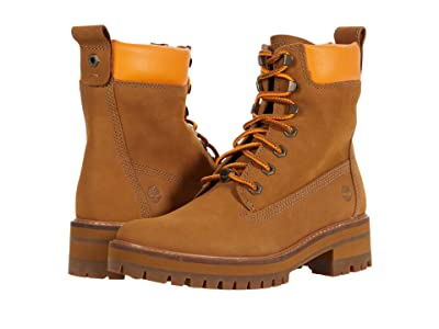 Timberland Courmayeur Valley 6 Boot (Medium Brown Nubuck) Women