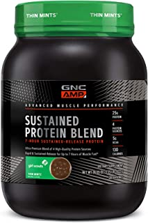 Sponsored Ad - GNC AMP Sustained Protein Blend - Girl Scouts Thin Mints