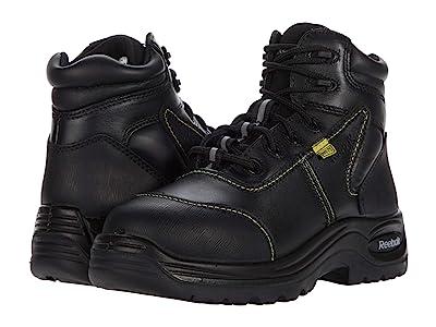 Reebok Work Trainex 6 Sport Boot with Flex-Met(r) Internal Met Guard (Black) Women